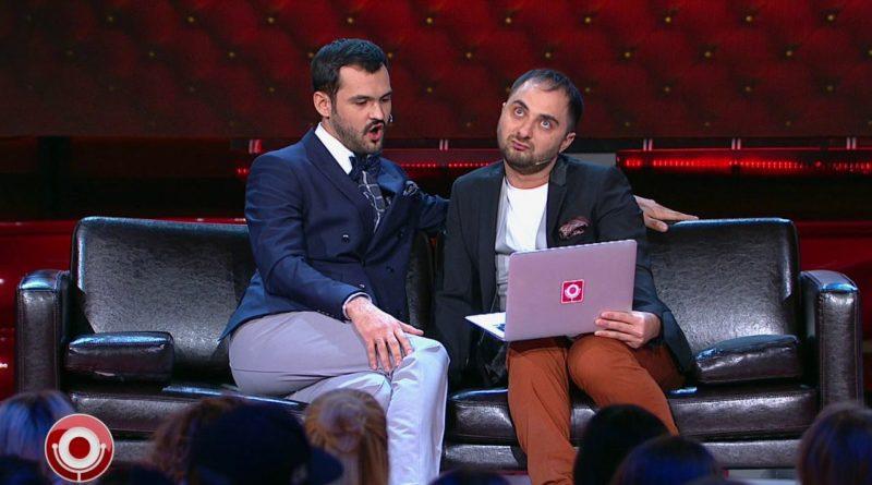 Демис Карибидис и Андрей Скороход — Кристюша и Ксюша записывают видеообращение